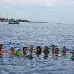 Volunteers Enjoying Snorkeling