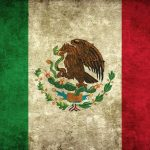 Stylized Picture of the Mexico Flag