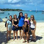 Volunteers Enjoying The Beach in Haiti