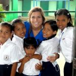 Panama Volunteer with Children