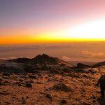 Photo of Volunteers Climbing Mt. Kilimanjaro