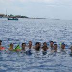 Volunteers Enjoying Snorkeling