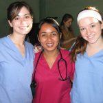 Three ISL Volunteers
