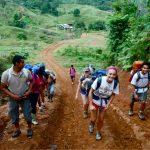 Hike For Humanity Volunteers Starting Their Adventure