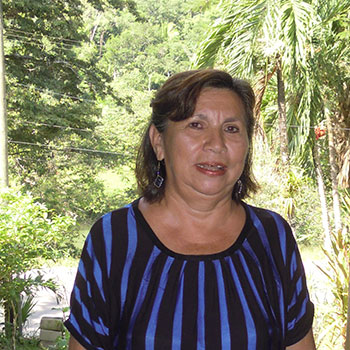Ana Castellanos Belize Team Leader