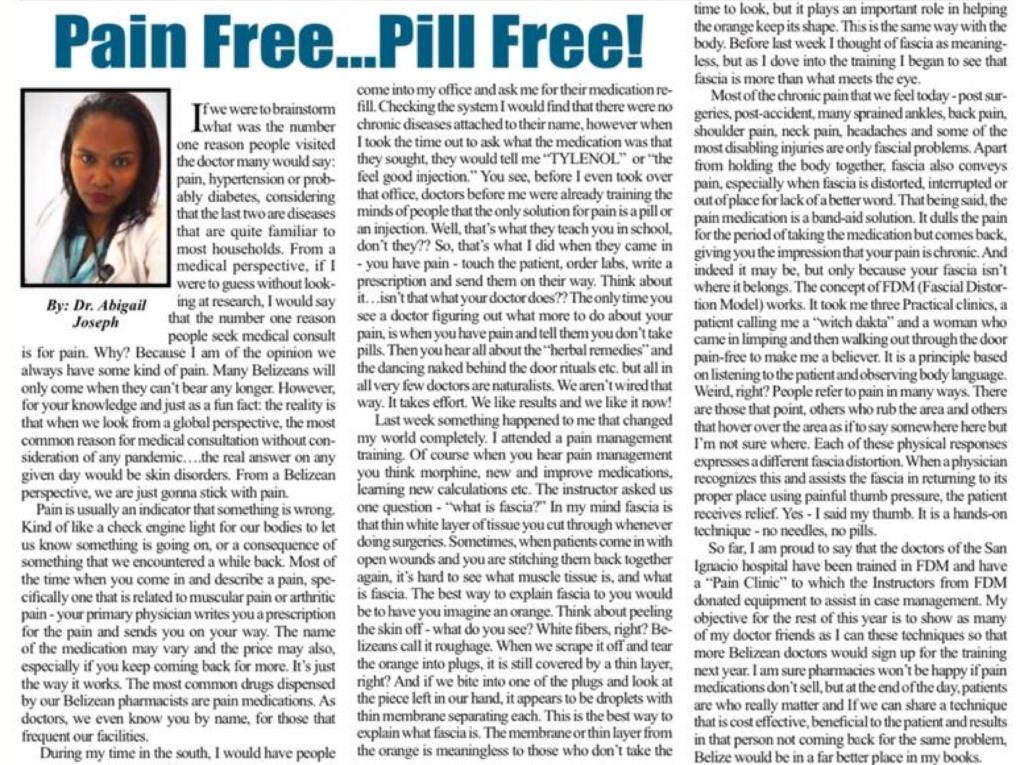 Pain Free... Pill Free by Dr. Abigail Joseph